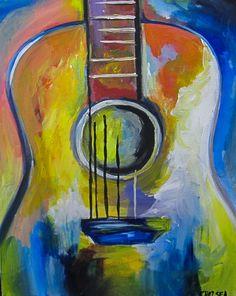 "Calendar arte wine & paint delafield ""groovy guitar"" art в 2 Wine Painting, Guitar Painting, Music Painting, Easy Canvas Painting, Music Artwork, Guitar Art, Acrylic Canvas, Art Music, Painting & Drawing"