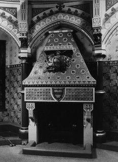 Fireplace, Castell Coch