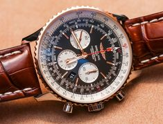 Breitling Navitimer 01 46mm Two-Tone Watch Hands-On