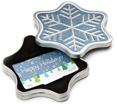 $25 Amazon Gift Card in a Snowflake Tin. Free fast 1-Day Delivery.  http://searchpromocodes.club/25-amazon-gift-card-in-a-snowflake-tin-free-fast-1-day-delivery/