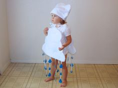 Baby Cloud Costume Halloween Dress Up Photo Prop Girl Costume Boy Costume Infant Toddler Newborn on Etsy, $60.00
