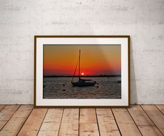 Wouldn't you love to be here?  I would.  But a close second would be hanging this Sunset Wall Art anywhere in your home!    https://www.etsy.com/listing/491050423/wall-art-jersey-shore-sunset-wall-art?ref=shop_home_active_2