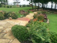 Each project is special and has to be analyzed before designing by experts at the Landscape Installation company in Forth Worth TX. In case of small space, there is a need for additional scrutiny to prevent any errors in design. Flagstone Patio, Brick Patios, Stone Patios, Concrete Patios, Stone Walkway, Concrete Stone, Landscaping Company, Types Of Plants, Fort Worth