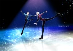 Yuuri and Victor - Yuri!!! on Ice by shura on pixiv