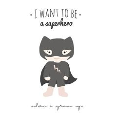 Plakat Superhero
