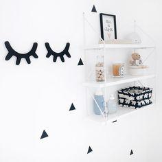 Kid's room - deco - black and white