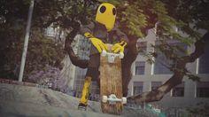 Eric Lerner hat mit Gabriel einen Cartoon-Charakter kreiert, der in der realen Welt lebt. Meistens rollt er mit seinem Skateboard durch die Gegend und verhält sich ganz unauffällig normal. Aber manchmal blitzen seine besonderen, übernatürlichen Fähigkeiten auf. Gabriel kann sich durch die Welt bewegen, als wäre es sein Traum. Hypnotisch ist der Film hier auch [ ]