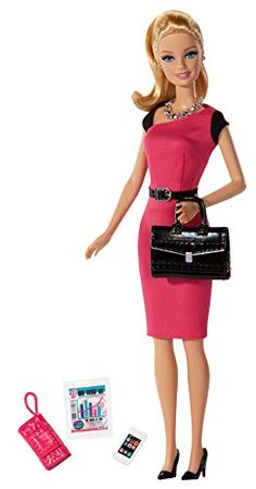 Barbie doll is ready to make a bold business move and strike out on her own to achieve her career dreams! Entering the entrepreneurial world this independent professional is ready for the next big pi... Barbie Toys, Barbie I, Barbie World, Barbie Dress, Barbie Clothes, Doll Toys, Barbie Stuff, Pretty Dolls, Beautiful Dolls