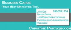 Business Cards – One of The Best Marketing Tools You've Got :: http://www.christinepantazis.com/business-cards-one-of-the-best-marketing-tools-youve-got/