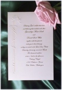 Religious Wedding Invitation Wording Archives   The Wedding Specialists