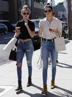 Gigi and Kendall