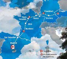 Oferta de viaje a Espa�a. Entra, informate y reserva el viaje Circuito de 10 dias para ir de  Madrid a Praga Turista