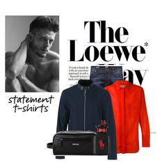 """The Loewe"" by blue-diva1 ❤ liked on Polyvore featuring Loewe, Jack & Jones, Yohji Yamamoto, Emporio Armani, Tommy Hilfiger, Ralph Lauren, men's fashion and menswear"