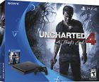Sony PlayStation 4 Slim 500GB Console Uncharted 4 A Thief's End Game Bundle (S.L