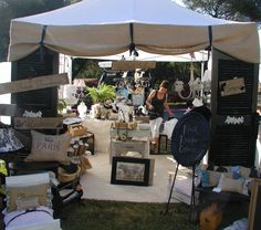 Chateau De Fleurs: Just a Few Photo's of Our June Show Early Friday Morning Before We Opened