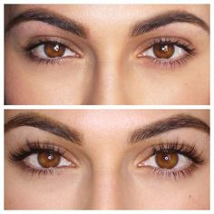 Eyelash extensions mean a reduced daily eye makeup routine! Lash extensions hook you up with no effort, naturally beautiful eyelashes Thicker Eyelashes, Mink Eyelashes, Long Lashes, Long Natural Eyelashes, Feather Eyelashes, Beautiful Eyelashes, False Lashes Natural, Faux Lashes, Thick Lashes