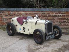 1930 Austin Seven Ulster Sports Chassis no. to be advised Engine no. Nissan Trucks, Chevrolet Trucks, Ford Trucks, Austin Cars, Austin Seven, Classic Race Cars, Auto Retro, British Sports Cars, Old Race Cars