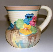 Clarice Cliff Jug - this would make me smile every morning