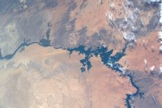 Tim Kopra @astro_tim 3h3 hours ago Houston, TX  22 May '16 Lake Nasser and Nile RIver in #Egypt.  @Space_Station #Explore Tim Kopra (@astro_tim) | Twitter
