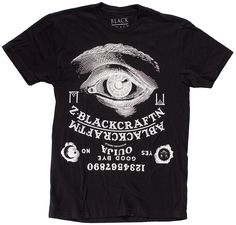 BLACK CRAFT CULT OUIJA T SHIRT - You can now just ask your t-shirt 5444a2f0d41f9