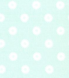Quilter's Showcase™ Cotton Fabric-Flower Mint White