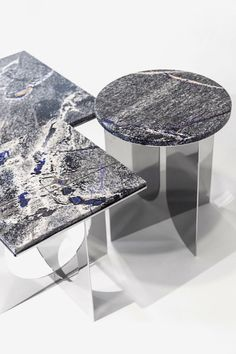 Top 10 Luxury Furniture Brands To Your Home Interior . Marble Furniture, Design Furniture, Metal Furniture, Luxury Furniture, Modern Furniture, Table En Granit, Granite Table, Blue Granite, Modern Side Table