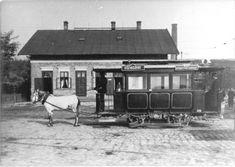 Ilyen is volt Budapest - 1890 körül, Soroksári út Közvágóhíd, a lóvasút végállomása Budapest, Cabin, House Styles, Home, Cabins, Ad Home, Cottage, Homes, Wooden Houses