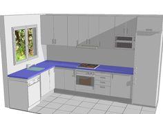 Modern Kitchen Cabinets, Kitchen Cabinet Design, Kitchen Layout, Kitchen Sets, Home Decor Kitchen, Diy Kitchen, Indian Home Design, Kitchen Remodel, Small Spaces