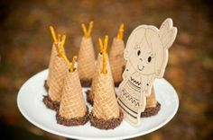 Sugar Cone Teepees Rustic Cabin Thanksgiving Party