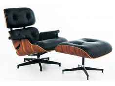 What's not to like about the Charles Eames chair and ottoman? Nothing, actually.