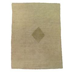 Plain and simple Vintage Turkish Tulu rug.