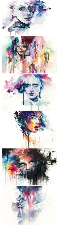 As aquarelas de Silvia Pelissero