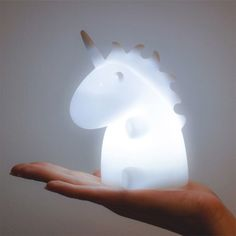 Lampada Unicorno - Bianco