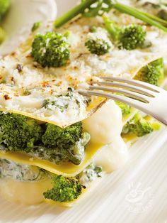 Lasagne ai broccoli e yogurt
