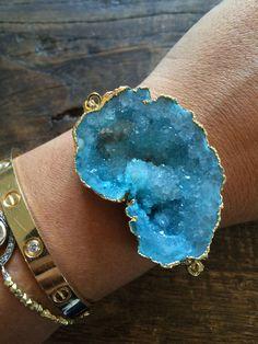 Crystal Waters Druzy Bracelet