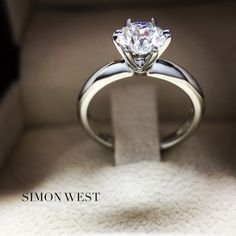 Platinum diamond ring, made by hand with the skill & attention to detail in our Melbourne studio.