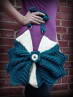 CROCHET PATTERN PDF Odette Purse Pattern by livinginamethyst