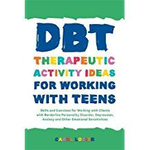 DBT skills for teens with borderline personality disorder, depression, or anxiet. - - DBT skills for teens with borderline personality disorder, depression, or anxiety. Group Activities For Teens, Group Therapy Activities, Anxiety Activities, Therapy Worksheets, Health Activities, Counseling Teens, Counseling Activities, Leadership Activities, Social Activities