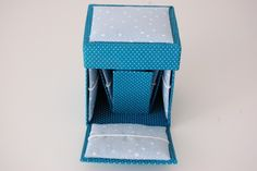 Sewing Box covered with fabric