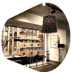 Awande Bronze Frameless Mirror