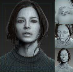 ArtStation - 3D Portrait, Pasquale Giacobelli