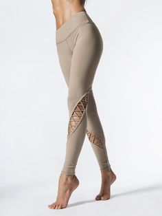 2c872acba0 Entwine Leggings in Gravel by Alo Yoga from Carbon38 Athletic Pants,  Athletic Outfits, Athletic