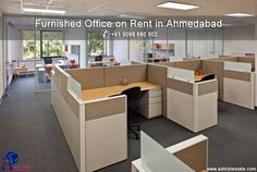 AshishEstate: Avail #FurnishedOffice on rent in Ahmedabad for Smooth Functioning of Your Business.