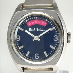 Paul Smith - Spinning Seconds Wrist Watch (Blue Face)