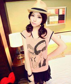 [qz061] เสื้อแฟชั่น Pre Order เสื้อเกาหลีผ้าชีฟอง | SoMoreMore.Com