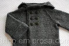 Resultado de imagem para como fazer touca de trico para bebe passo a passo