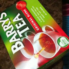 Barry's tea - very popular in Ireland.