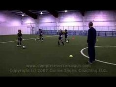 Soccer drills & youth warm-up by Complete Soccer Coach.