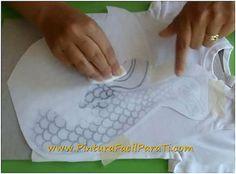 A prende a realizar la transferencia de imágenes o dibujos en tela para decorar prendas, cojines, cortinas...
