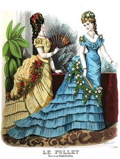 Victorian fashion plate Le Follett